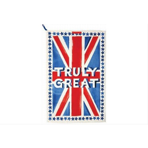 Emma Bridgewater Union Jack Tea Towel Truly Great