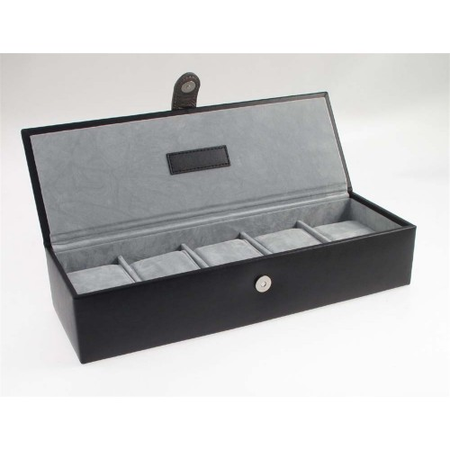 Gents Leather 5 Watch Box