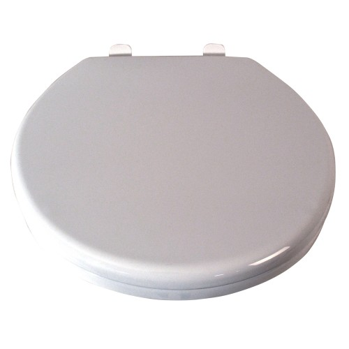 Casa Slow Close Toilet Seat, White