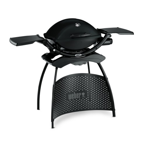 Weber Q2200 BBQ and Stand, Black