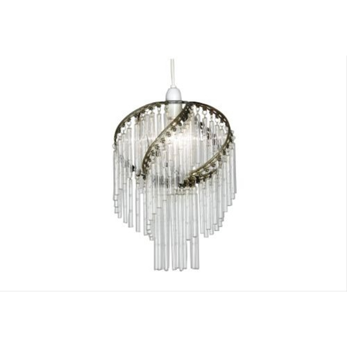 Casa Clear Glass Rod Pendant Shade