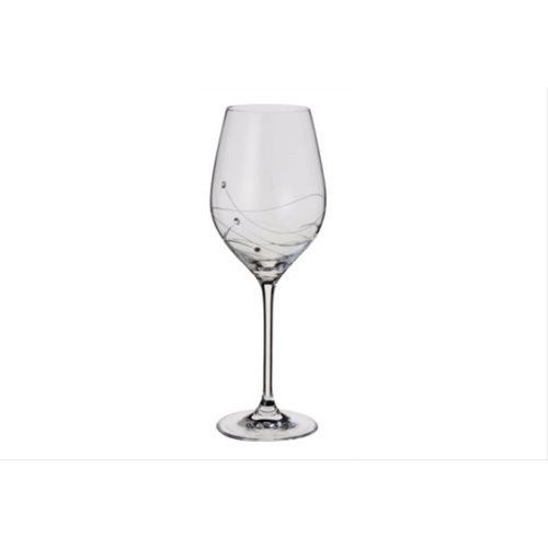 Dartington Glitz Wine Glasses Pair
