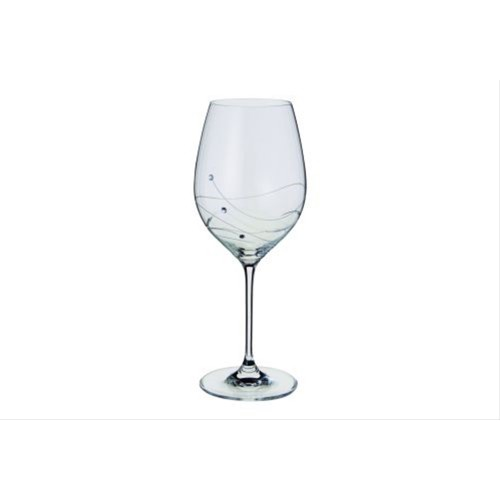 Dartington Glitz Goblet Glasses Pair