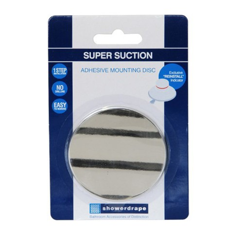 Showerdrape Suction Axis Adhesive Disc