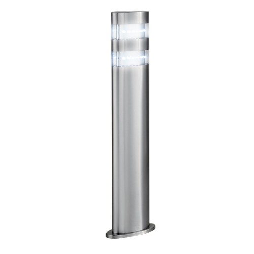 Oval Post, Satin Silver