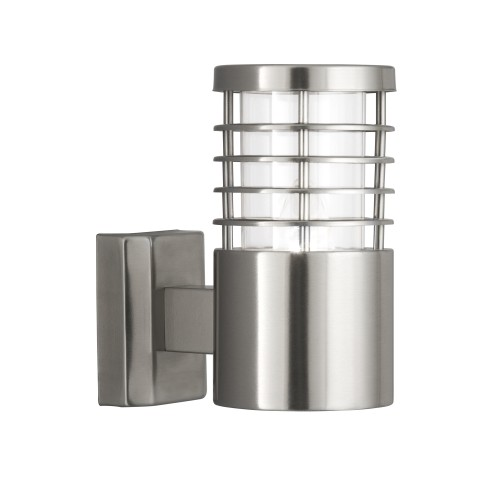 Searchlight Outdoor Wall Light, Stainless Steel