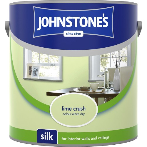Johnstone 2.5l Silk Emulsion, Lime Crush
