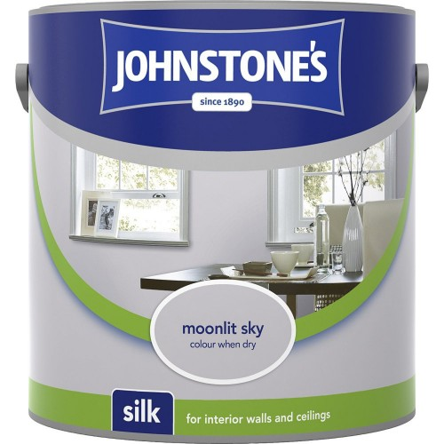 Johnstones 2.5l Silk Emulsion, Moonlit Sky