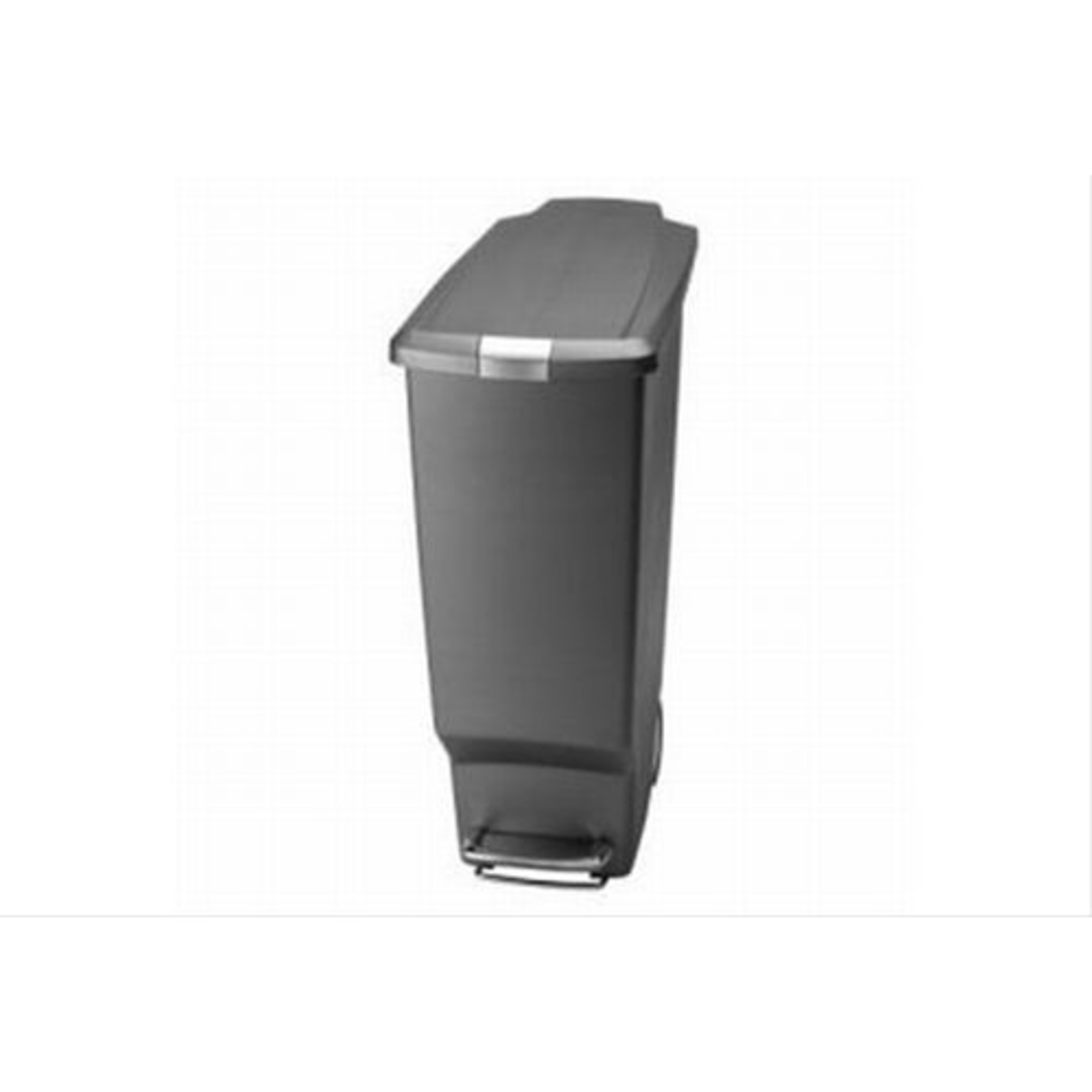 Simple Human 40 Litre Slimline Plastic Bin Grey