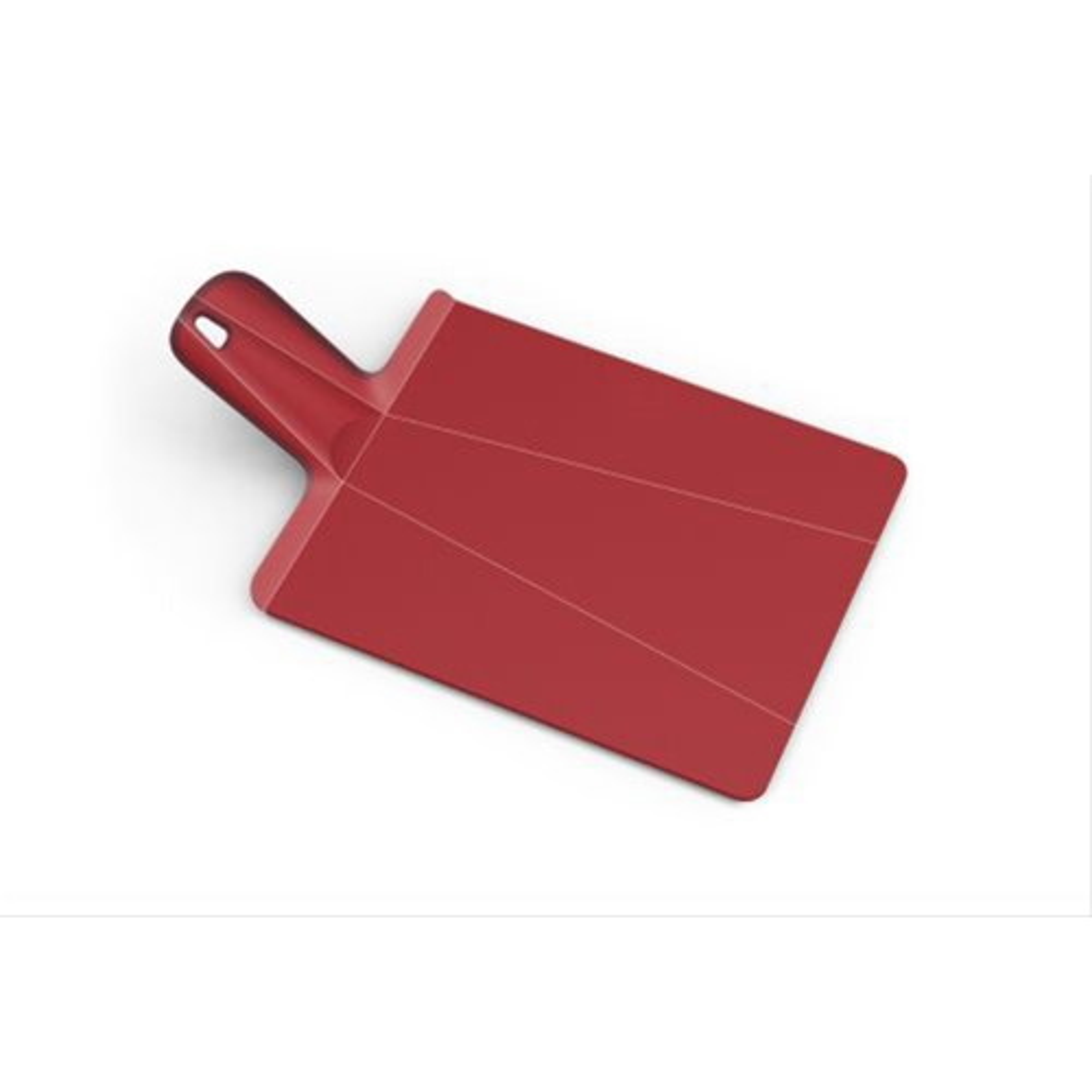 Joseph Joseph Chop2Pot Plus - Folding Chopping Board, Red