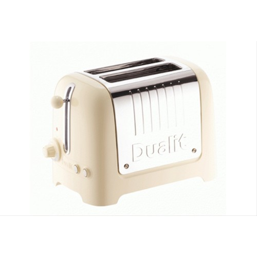 Dualit 26202 2 Slot Lite Toaster, Cream Gloss