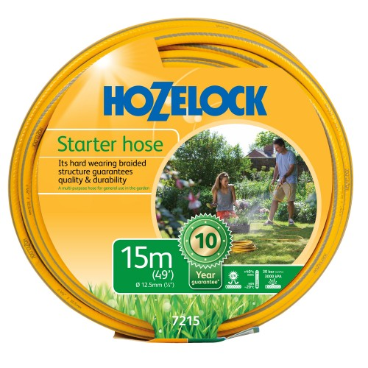 Hozelock 15m Maxi Plus Starter Hose