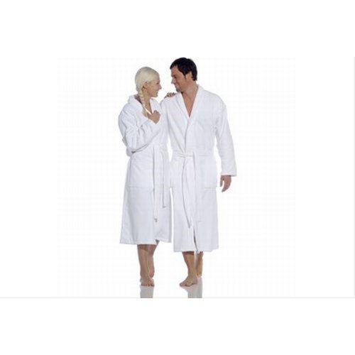 Vossen Feeling Luxury Robe Small, White