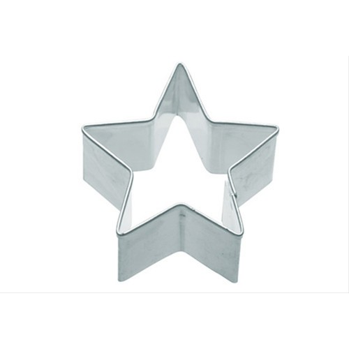 Kitchen Craft 6.5cm Star Shaped Metal Cookie Cutter