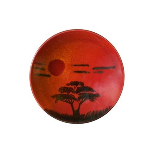 Poole Pottery 12cm African Sky Plaque