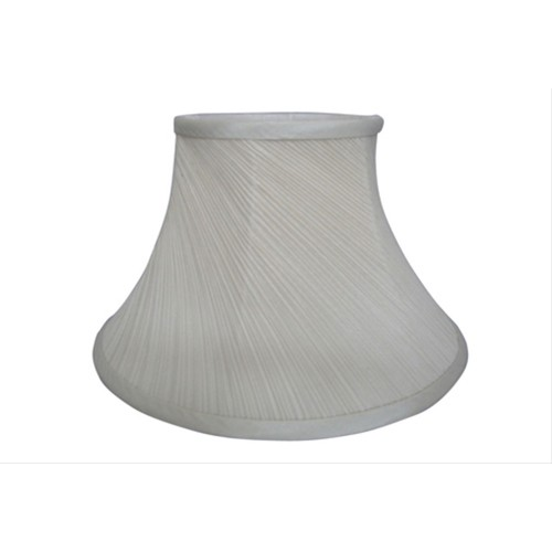 "12"" Cream Twisted Pleat shade"