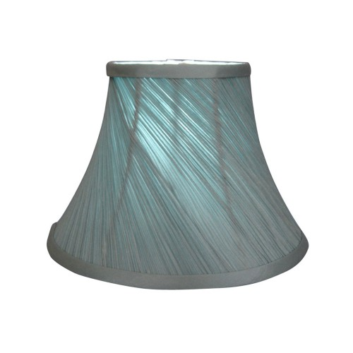 "14"" Duck Egg Twisted Pleat Shade"