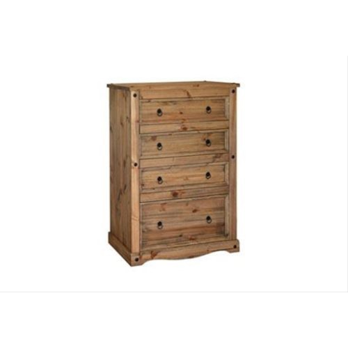 Connor 4 Drawer Chest Leekes