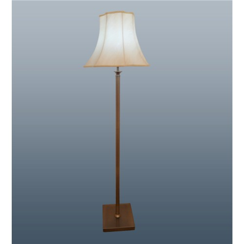 "54"" Manor Brass Floor Lamp"