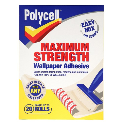 Polycell 20 Roll Max Strength Wallpaper Adhesive
