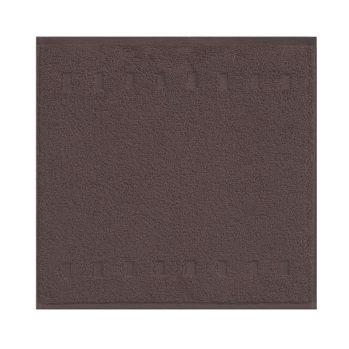 Vossen Country Style Face Towel, Slate Grey