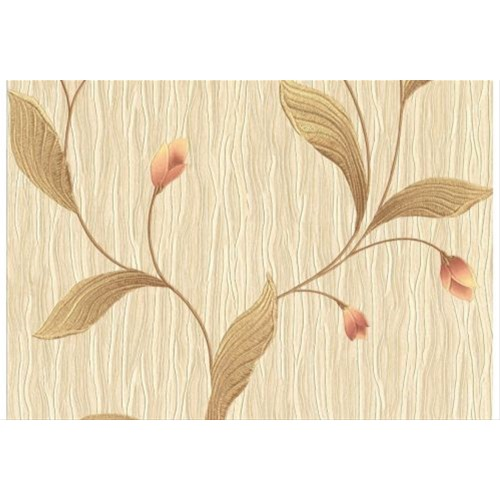 Tiffany Italian Vinyl Floral Peach Wallpaper