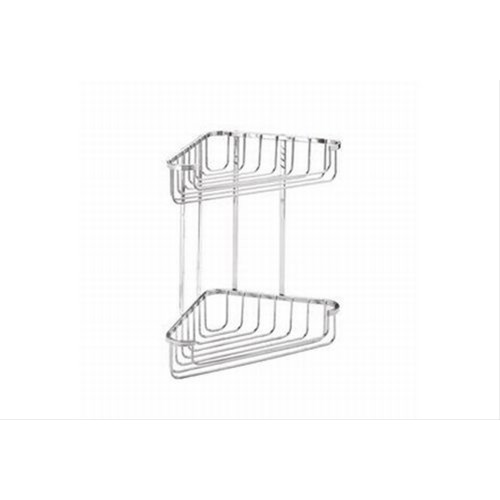 Croydex Large 2 tier Corner Basket