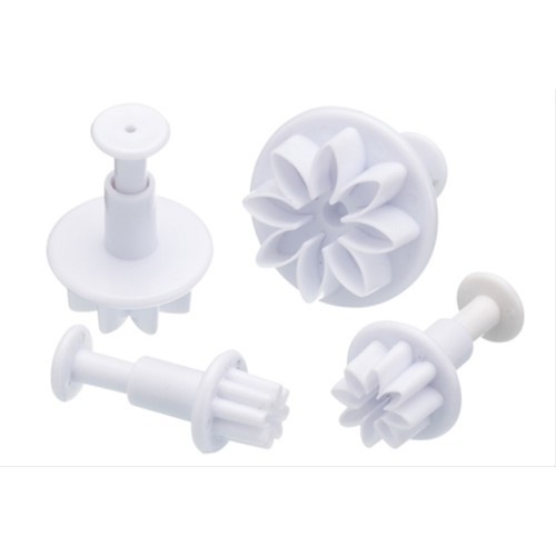 Sweetly Does It Set of Four Flower Fondant Plunger Cutters