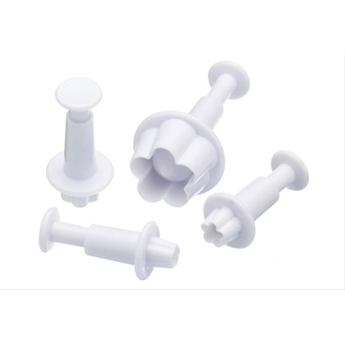 Sweetly Does It Set of Four Daisy Fondant Plunger Cutters
