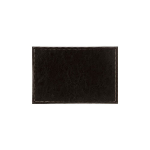 Black Leather Look Placemats