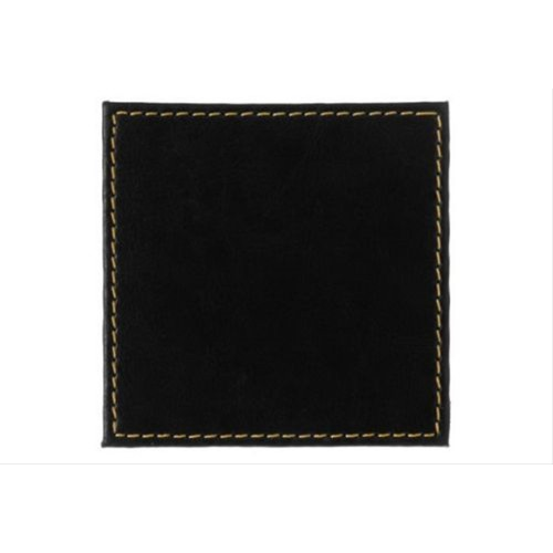 Black Leather look Coasters