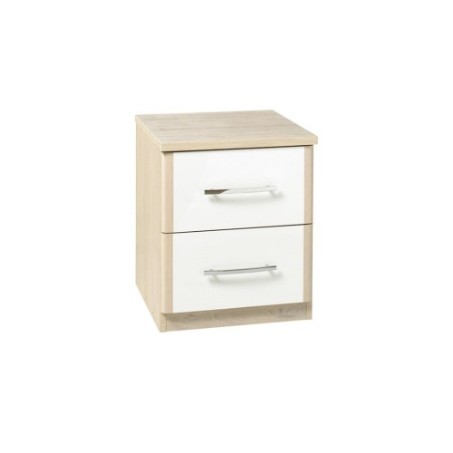 Casa Zara 2 Drawer Bedside Chest