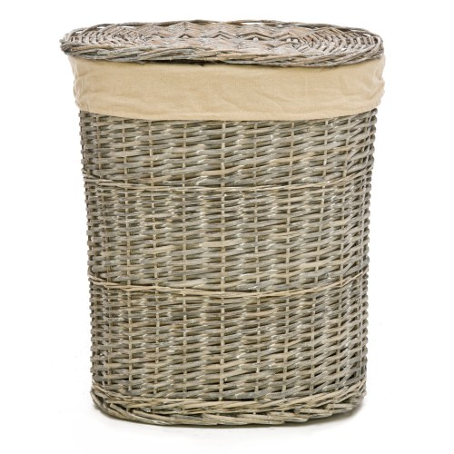 Casa Grey Willow Small Laundry Basket