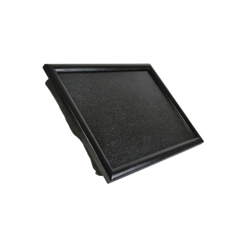 Casa Glitter Laptray, Black