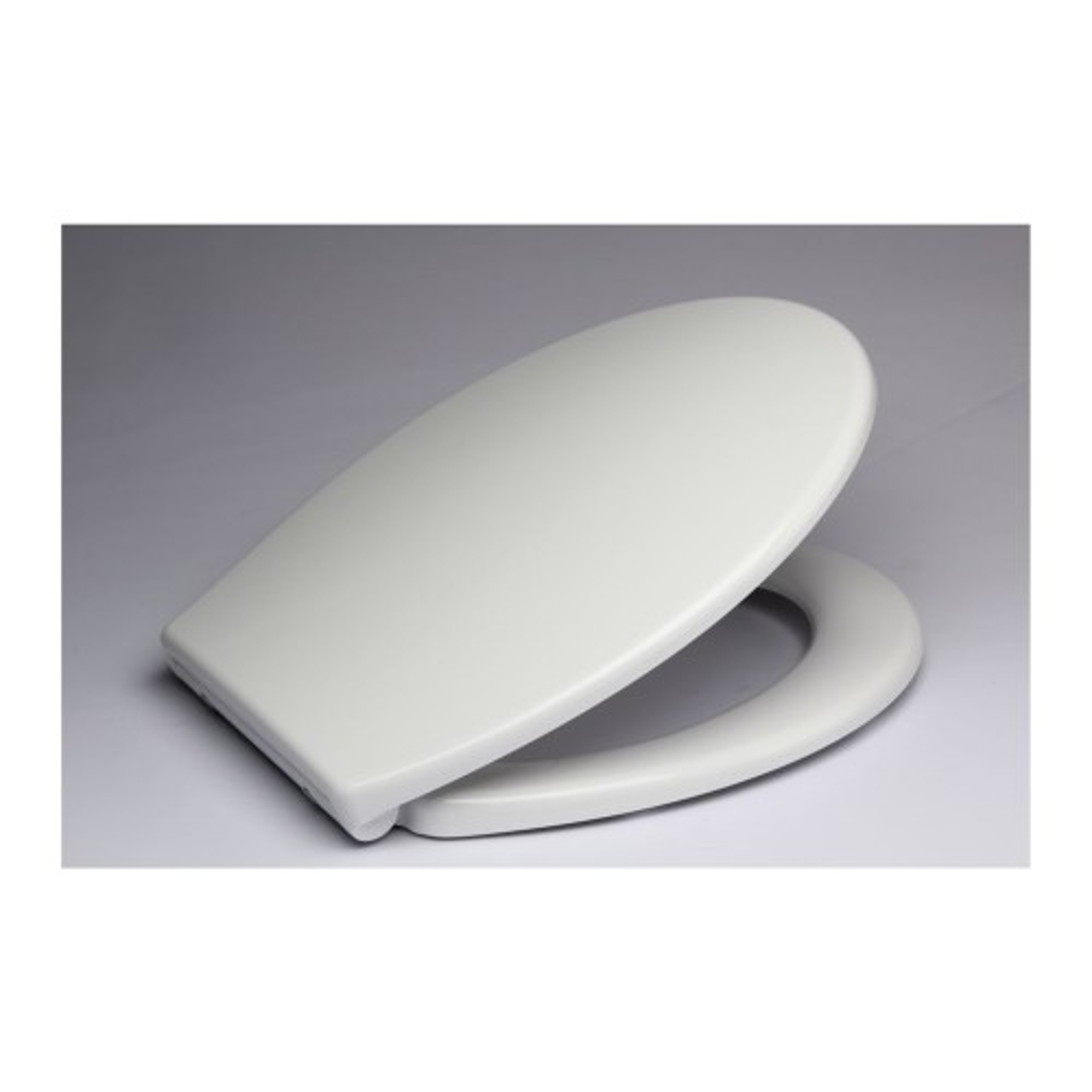 Slow Close Toilet Seat, White