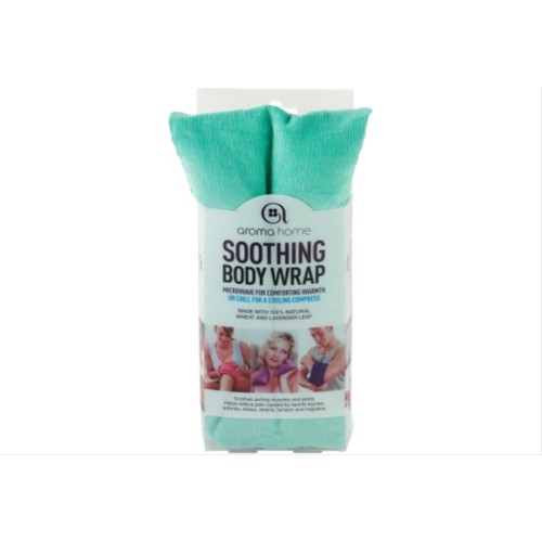 Aroma Home Soothing Body Wrap, Turquoise