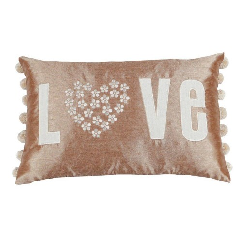 Scatterbox Love Cushion, Latte