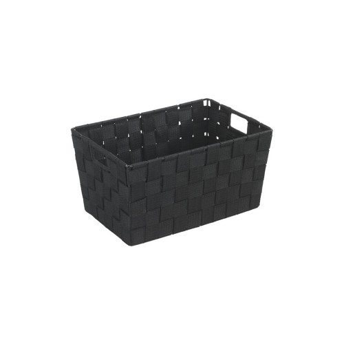 Wenko Adria Bathroom Basket Small, Black