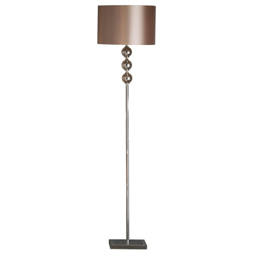 Mercury Glass Floor Lamp