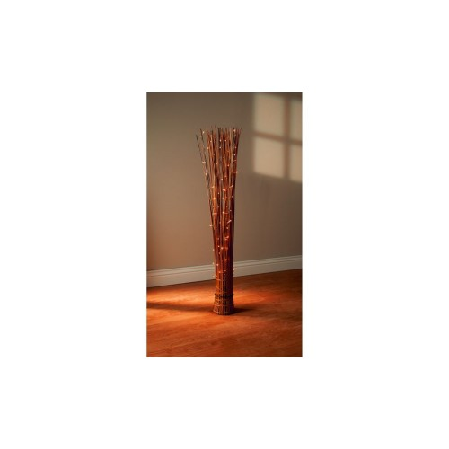 1M Natural Rattan Stand LED