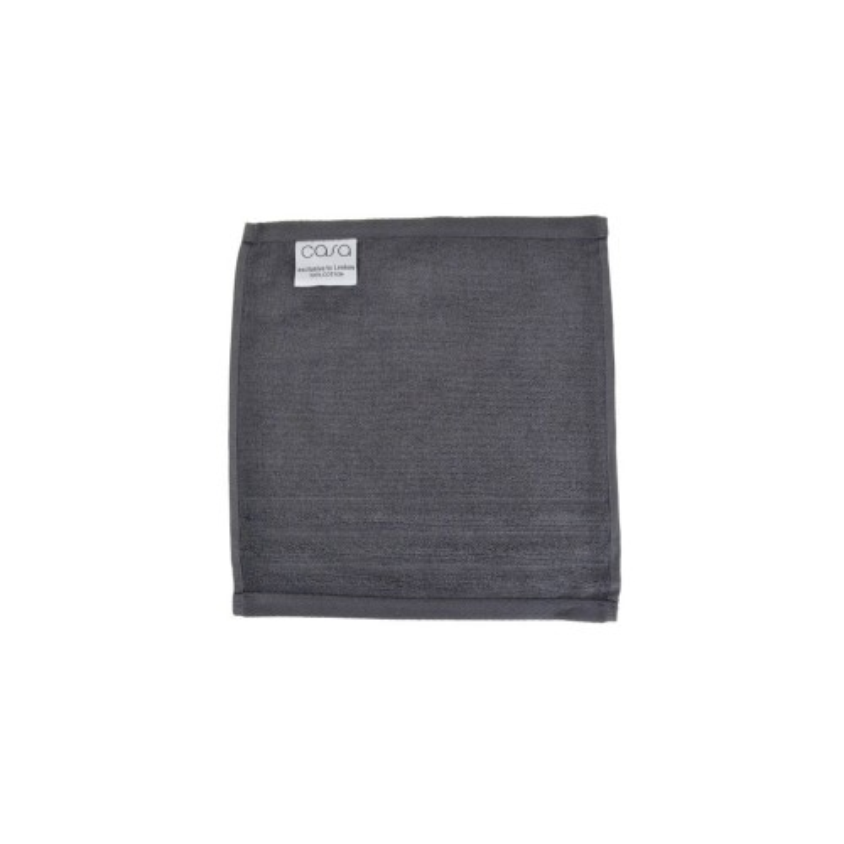 Casa Face Cloth, Slate Grey