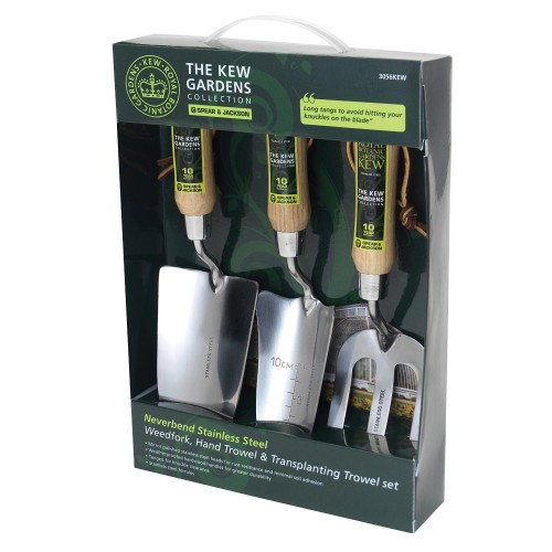 Kew Gardens Collection Stainless 3 Piece Gift Set