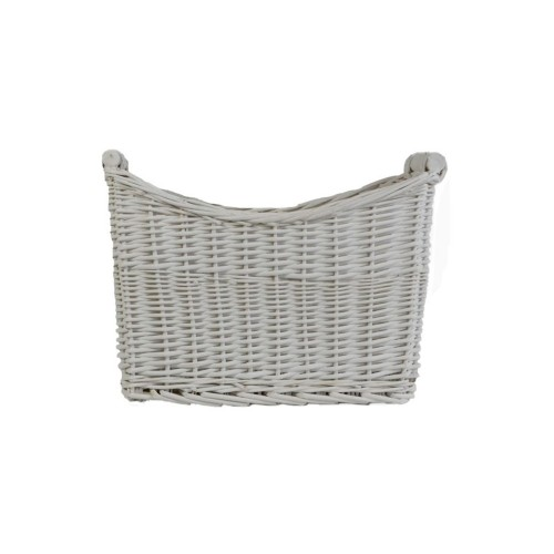Casa Willow Magazine Rack, White