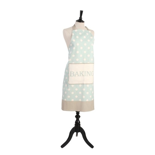 T and G Woodware Spot Apron, Mint
