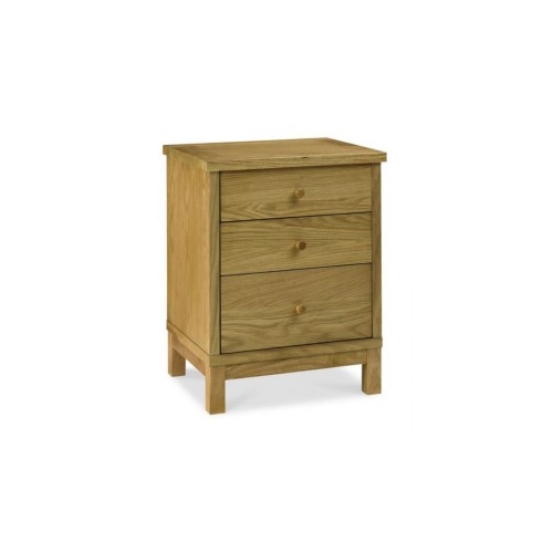 Casa Atlanta 3 Drawer Nightstand