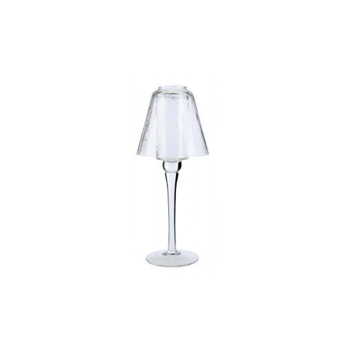 TL/H  TALL LAMP CLEAR CRACKLE