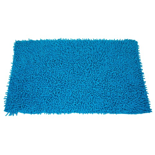 Casa Cotton Loop Bath Mat, Peacock