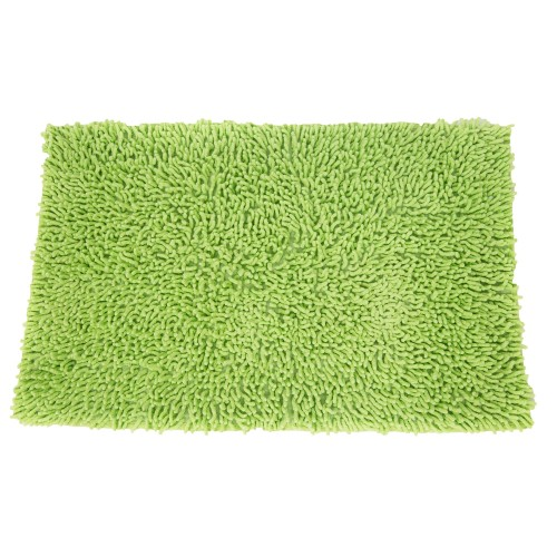 Casa Cotton Loop Bath Mat, Lime