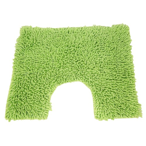 Casa Cotton Loop Pedestal Mat, Lime