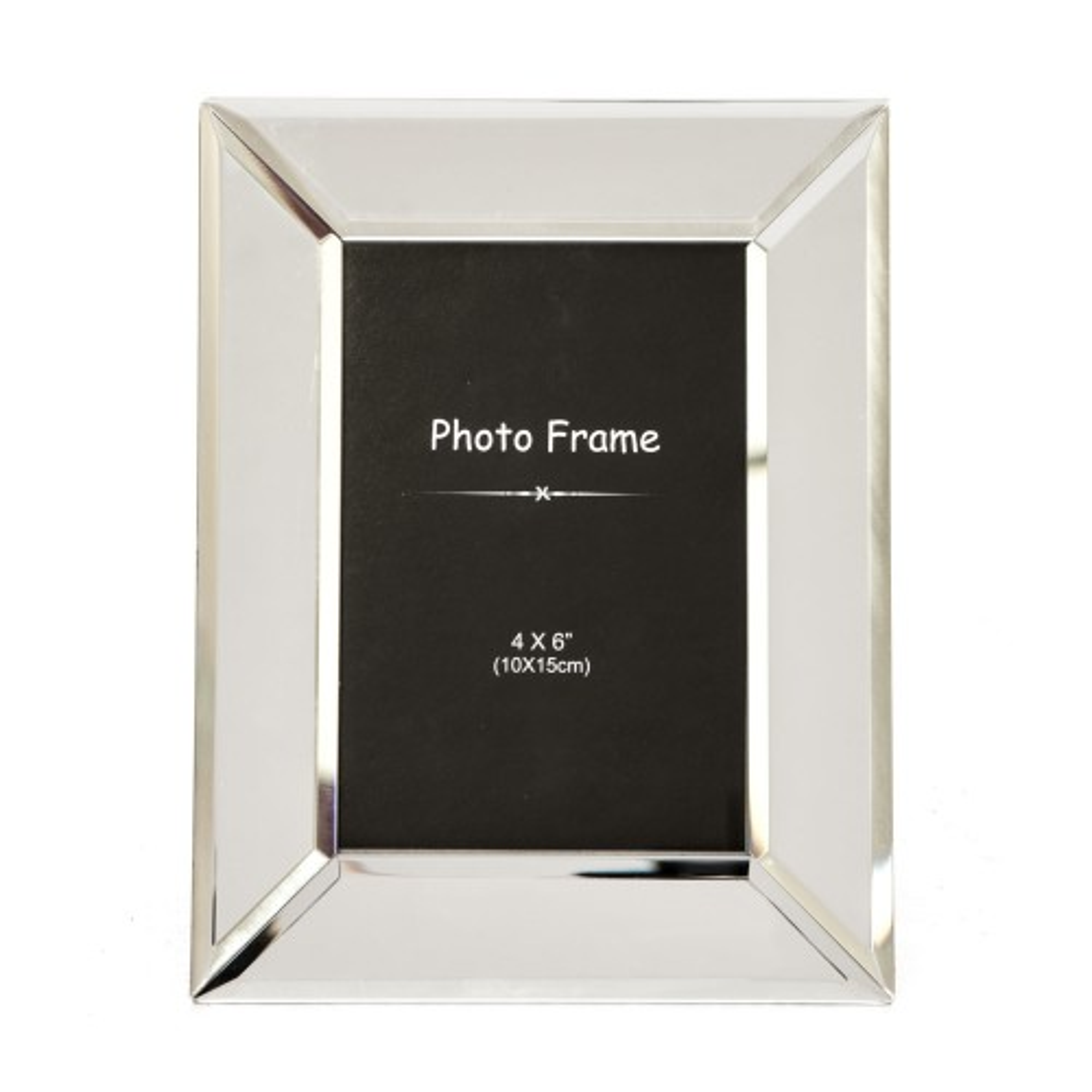"Casa Chunky Glass Frame 4x6"""